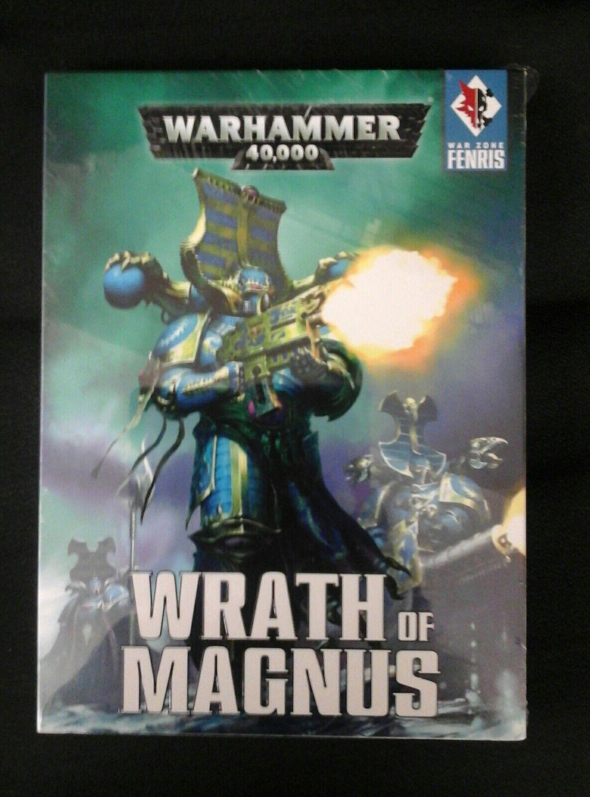 Krieg fenris zorn von magnus satz 7. n new hc gw warhammer 40.000 treten