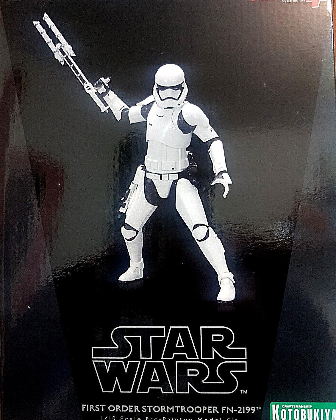 Star Wars First Order Stormtrooper FN-2199 Finn  - ARTFX Kotobukiya 1 10 Statua