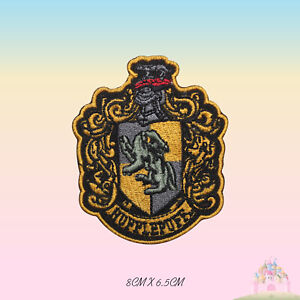 Harry Potter Hufflepuff Embroidered Iron On Sew On Patch Badge For Clothes etc