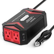 BESTEK 300W Power Inverter DC 12V to AC 110V Pure Sine Wave Inverter with 4.2...