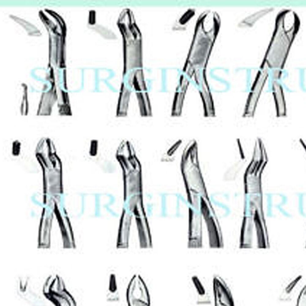 50 fórceps fórceps fórceps de extracción de instrumentos odontológicos de extracción 994f38