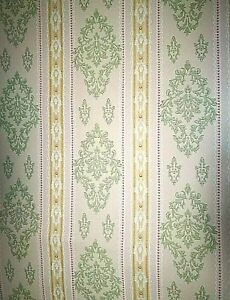 Details About Wallpaper Years 70 Vintage Original Roll Authentic Dell Age 326