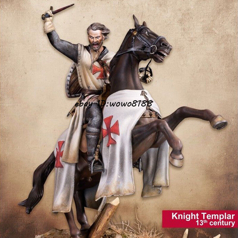 High-Q 1 24 Scale Unpainted Ancient Knight Garage Kit Resin Warrior Figure Model