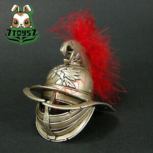 ACI Toys 1/6 Gladiator Verus B_ Helmet w/ red feather _Roman Warriors IV AT043G