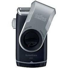 Braun M90 Mens Mobile Mini Electric Battery Powered Shaver + Precision Trimmer