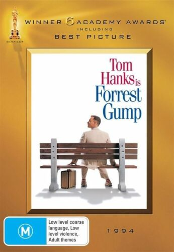 1 of 1 - Forrest Gump - Academy Gold Collection (DVD, 2009, 2-Disc Set)*R4*Terrific Cond