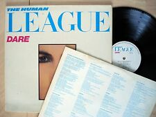 The Human League Dare + Inner A3 B3 UK LP Virgin V2192 1981 EX/EX