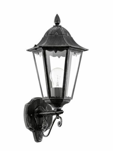 Outdoor Victorien Traditionnel mur lanterne 240 V jardin sécurité vers le haut léger