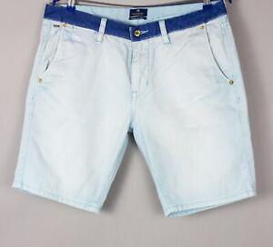 Scotch & Soda Hommes Décontracté Short Jeans Bermuda Taille W33 BBZ190