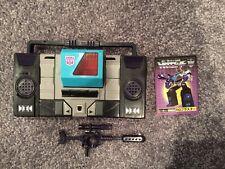 Transformers Ehobby G1 Shattered Glass Blaster 100%, NM/MINT