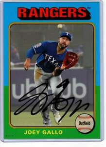 Joey-Gallo-2019-Topps-Archives-5x7-Gold-129-10-Rangers