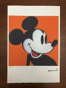 Andy-Warhol-Litografia-57-x-38-Arches-France-Timbri-Gallerie-d-039-Arte