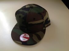 NEW ERA, CAMO, Pro Brand 9Fifty 950 BLANK Flat Bill Snapback Hat Cap
