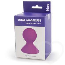 Dual Masseuse Nipple Suckers 2 pack  Inverted Nipples Care