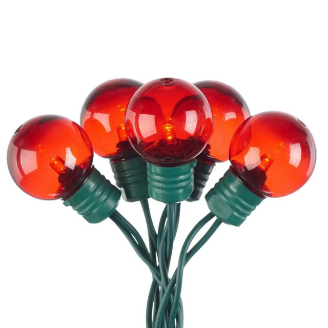 Count Red Led Super Bright G30