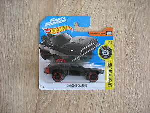 Dodge-Charger-039-70-HOTWHEELS-Fast-amp-Furious-NEW