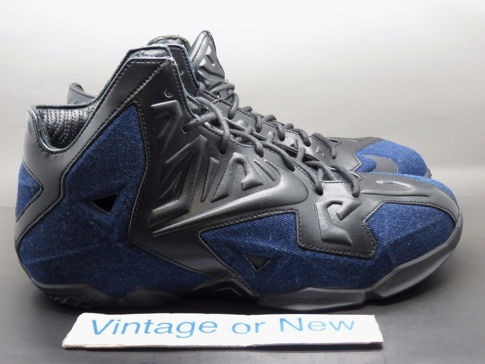 Nike LeBron XI 11 EXT Denim QS Price reduction Brand discount
