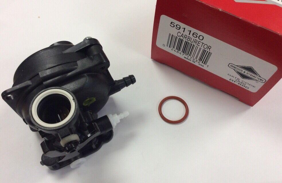 Genuine Briggs and Stratton Carburatore 591160-Nuovo-CARBURATORE 591160
