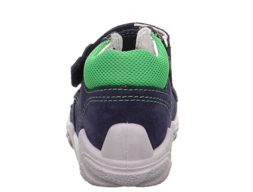 Superfit Jungen Sandalen grün Größe 20 22 23 24 25 Flow Rennfahrer Echtes Leder