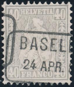 SCHWEIZ-1878-MiNr-34-a-gestempelt-Mi-140
