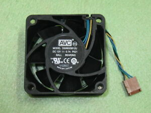 AVC-DS06025B12U-6025-60x25mm-Cooler-Cooling-Fan-for-HP-Compaq-0-7A-4Pin-B101b