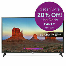 LG 43UK6200PLA 43 Ultra HD Smart 4K TV