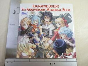RAGNAROK ONLINE 5th Aniv Memorial Book Japanese OOP SB*