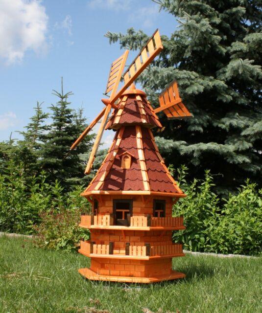1,50 m große XXL Windmühle für den Garten Typ 14.1