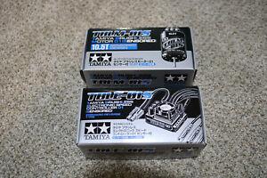 Tamiya TBLM-01S Sensored Brushless Motor 10.5T and TBLE-01S Sensored ESC Set