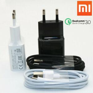 Detalles de Original Cargador Rápido QC3.0 18W rápido + Cable USB tipo C para Xiaomi Mi 6 6X Max2 ver título original
