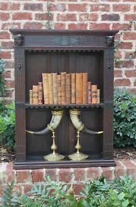 ... Antique-English-Oak-Renaissance-Revival-Plate-Rack-Wall- & Antique English Oak Renaissance Revival Plate Rack Wall Shelf ...