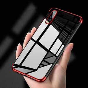 For-Huawei-P20-Pro-P-Smart-Stylish-Hybrid-Shockproof-Plating-Case-Silicone-Cover