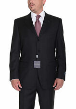 Canali 38S 48 40S Drop 4 Solid Heather Charcoal Gray Three Button Wool Suit