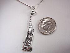 Giraffe 925 Sterling Silver Pendant Corona Sun Jewelry Africa safari park