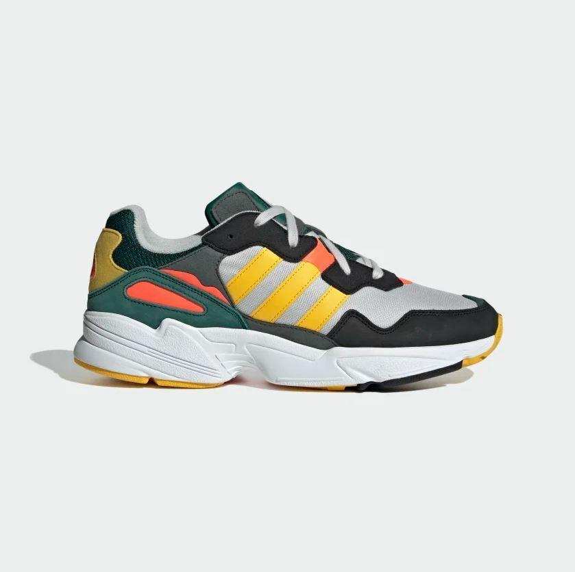 Adidas MENS ORIGINALS - YUNG-96 - RETRO STYLE GYM SNEAKERS - MULTICOLOR [DB2605]