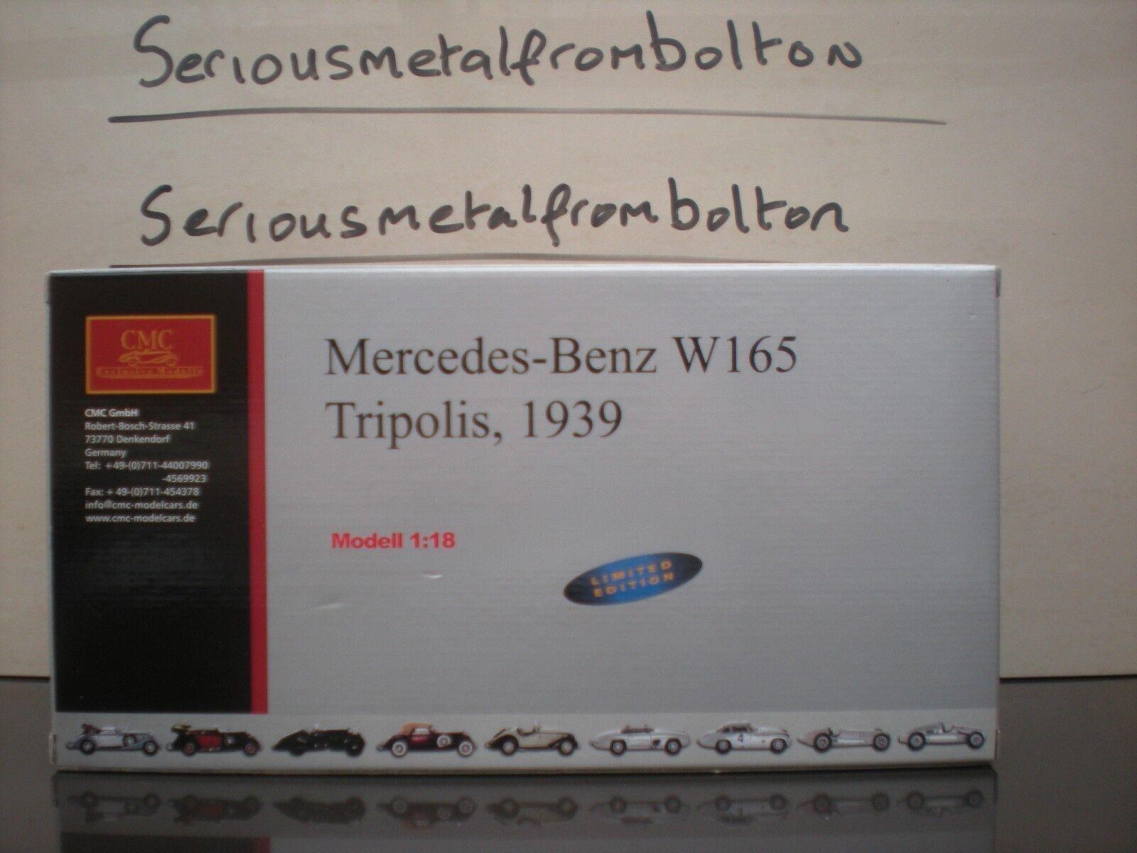 CMC M 074 Mercedes Benz W 165 1939 plata 1 18