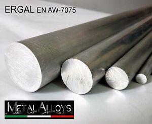 Barra Tonda Alluminio ERGAL 7075 da Ø 80 85 90 100 mm IN DIVERSE LUNGHEZZE