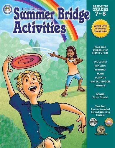 Summer Bridge Activities, Bridging Grades 7-8 | eBay