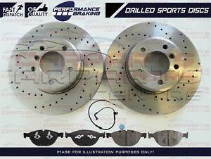 POUR-BMW-E60-E61-535-535D-M-Sport-Front-performances-Perce-Disques-De-Frein-Plaquettes-Fil