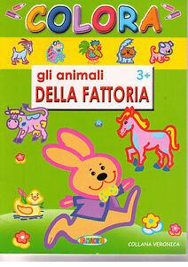 Intelligent Colora Gli Animali Della Fattoria - Salvadeos - Libro Nuovo In Offerta! Approvisionnement Suffisant