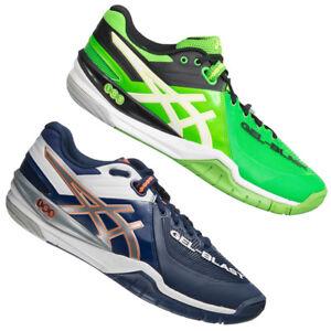 21d5b7c0b0 Das Bild wird geladen ASICS -Gel-Blast-6-Herren-Handballschuhe-Handball-Schuhe-