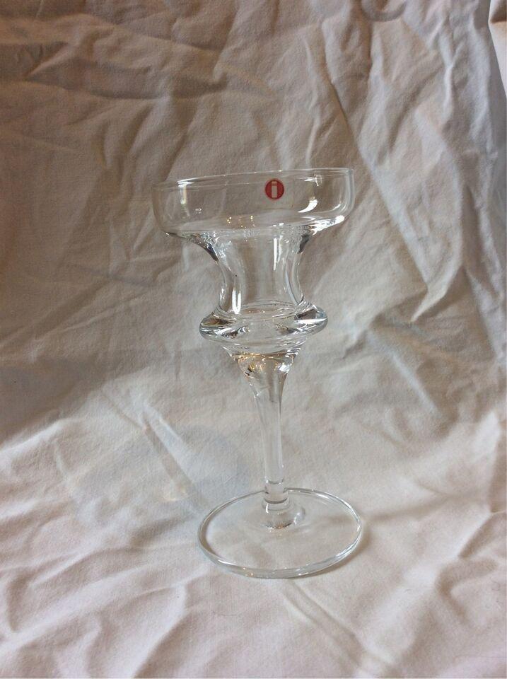 Glas, Lysestage, Iittala – Lysestage