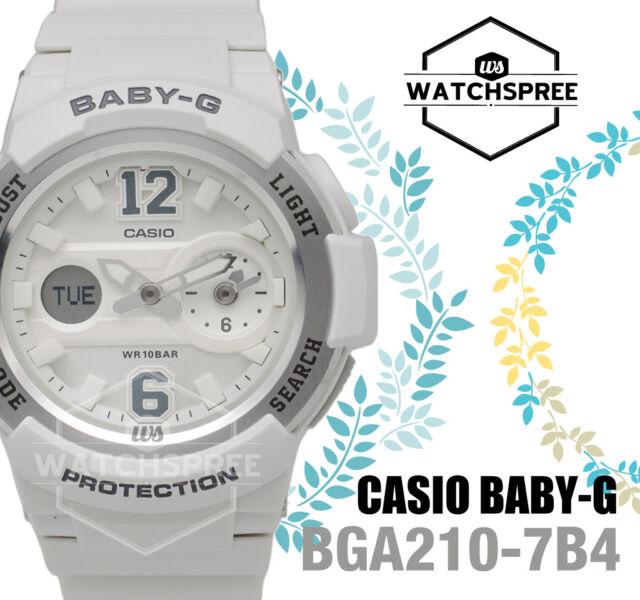 Casio Baby-G Sporty BGA-210 Series Analog Digital Watch BGA210-7B4