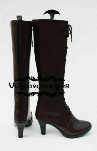 Black Butler Ciel Phantomhive Cosplay Costume Boots Shoes cosplay