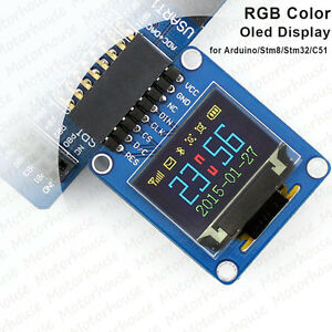 Details about 0 95'' 65K SPI RGB OLED LCD Display Module 96x64 Resolution  for Arduino SSD1331