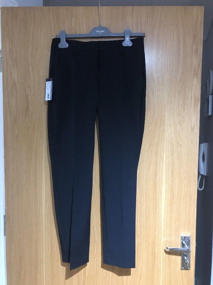 Noir PRADA Pantalon EU 38