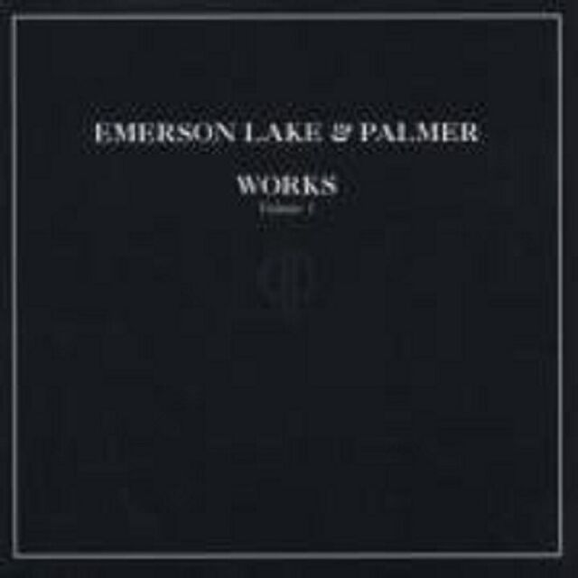 "EMERSON, LAKE & PALMER ""WORKS VOL.1"" 2 CD NEU"