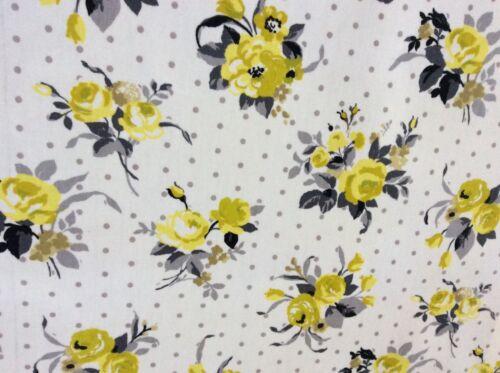 Rambling Rose Design Fabric Per Meter Oilcloth Fabric PVC Coated