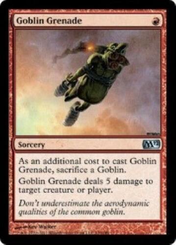 2x Goblin Grenade NM MTG Magic the Gathering M12