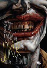 The Joker New Hardcover Book Brian Azzarello, Lee Bermejo
